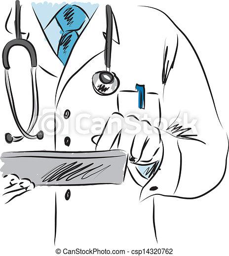 ábra, orvos, orvosi - csp14320762