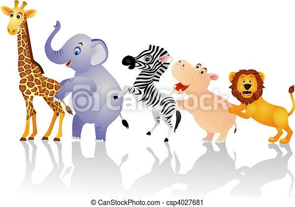 állat, boldog - csp4027681