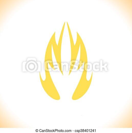 állhatatos, elbocsát, jelkép, ábra, vektor, tervezés, gyűjtés, ikon - csp38401241