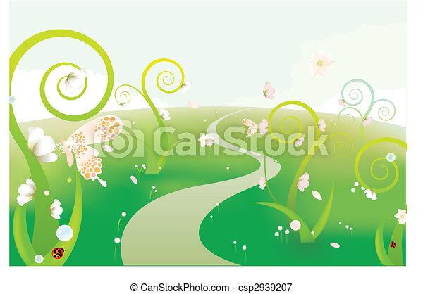 álmodik, kert - csp2939207