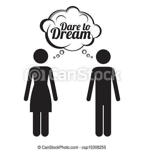 álmodik, merészel - csp15308255
