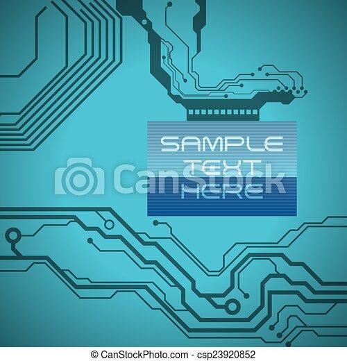 áramkör, elektromos - csp23920852