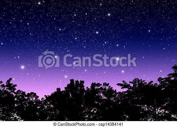ég, félhomály - csp14384141