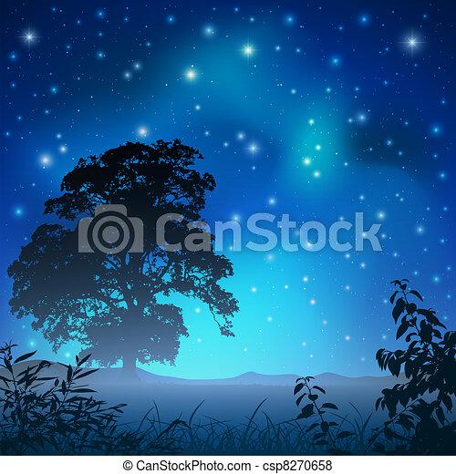 éjszaka ég - csp8270658