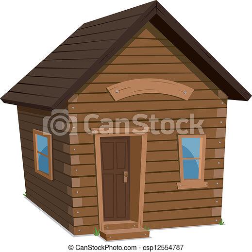 épület, erdő, életmód - csp12554787