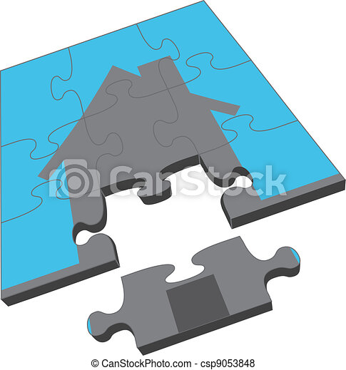 épület, rejtvény - csp9053848