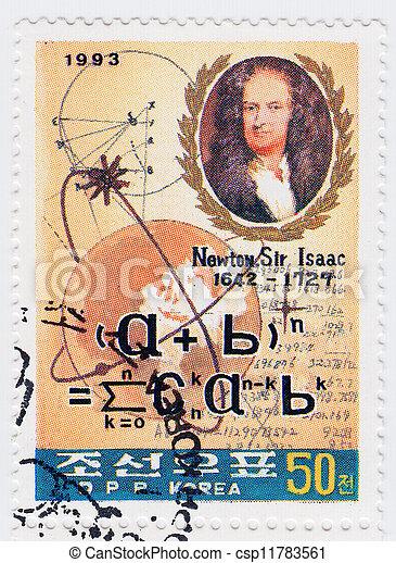 úr, 1993, korea, természetes, alkimista, theologian, :, fizikus, newton, -, nagy, filozófus, csillagász, isaac, cirka, matematikus, angol - csp11783561