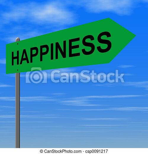 út, boldogság - csp0091217