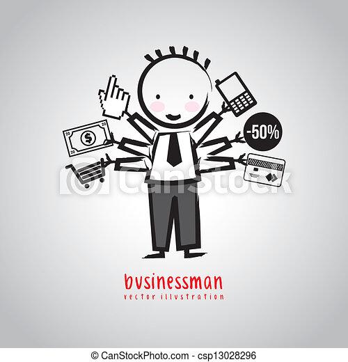 üzletember - csp13028296