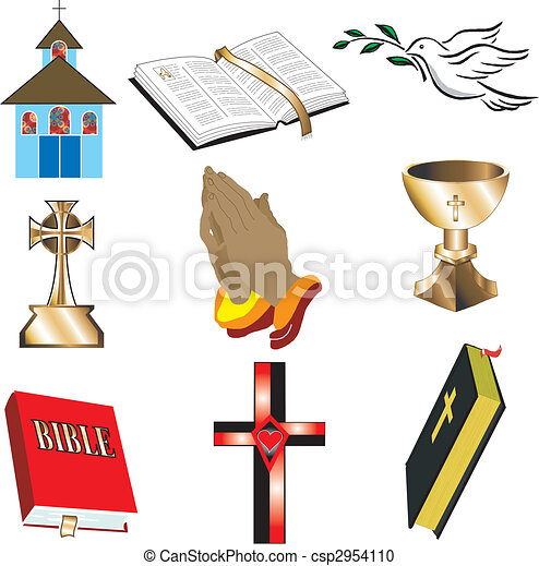 1, templom, ikonok - csp2954110