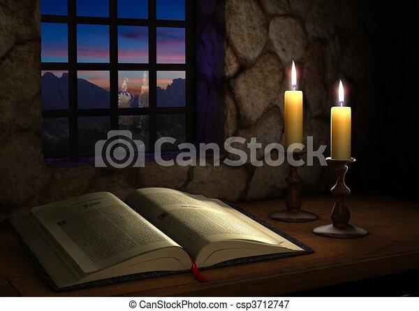 ablak, biblia - csp3712747