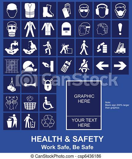 aláír, biztonság, egészség - csp6436186