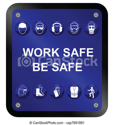 aláír, biztonság, egészség - csp7691891