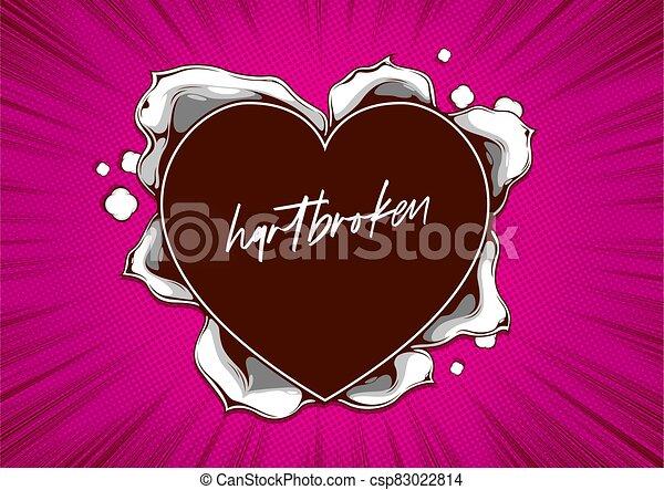 alakít, szív, dolgozat, 4, szakadt - csp83022814