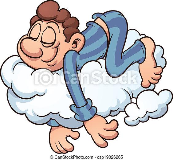 alvás, felhő - csp19026265