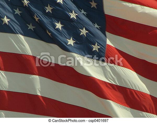 amerikai, 2, lobogó - csp0401697