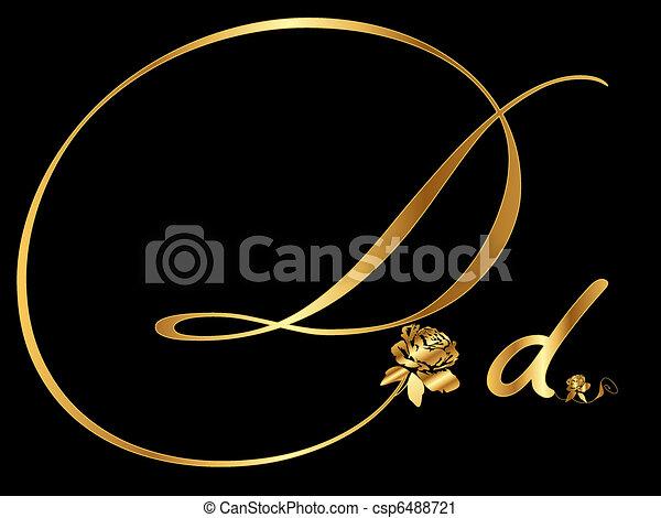 arany-, átmérő, levél - csp6488721