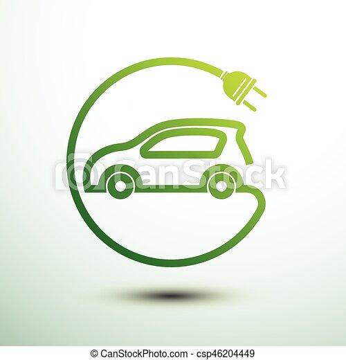autó, elektromos - csp46204449