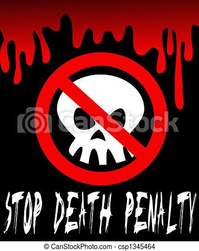 büntetés, halál, abbahagy - csp1345464