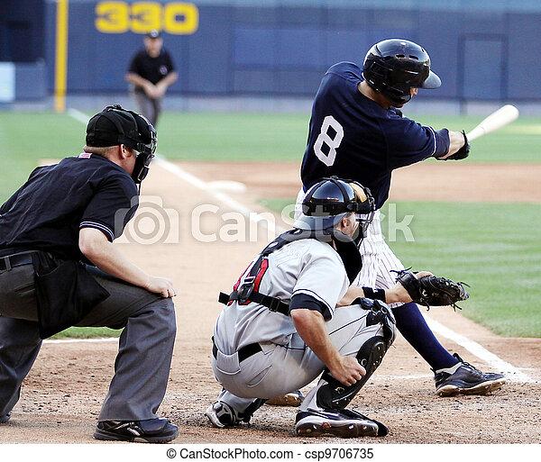 baseball ütőjátékos, hinta, right-handed - csp9706735