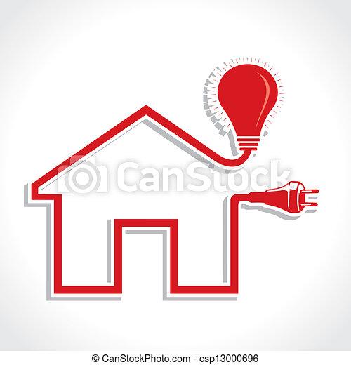 bedugaszol, otthon, ikon, gumó, drót - csp13000696