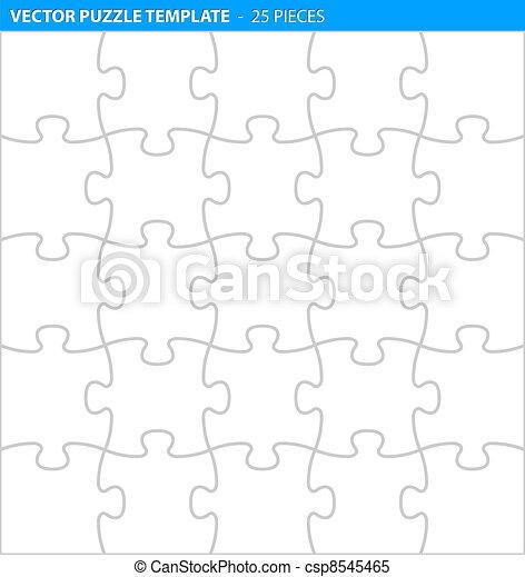 befejez, (25, rejtvény, lombfűrész, /, pieces), sablon - csp8545465