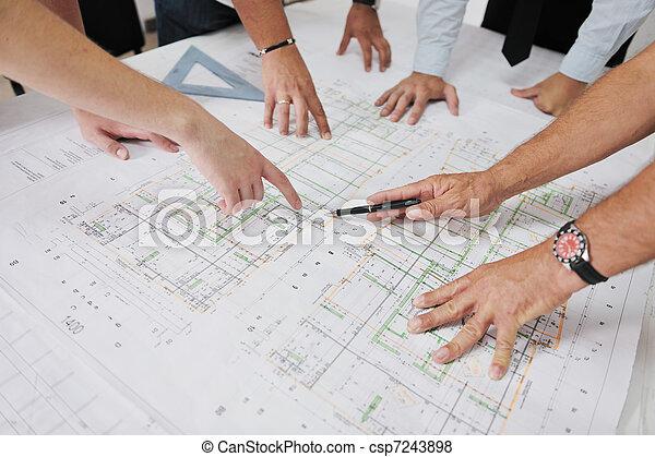 befog, építész, házhely, szerkesztés - csp7243898