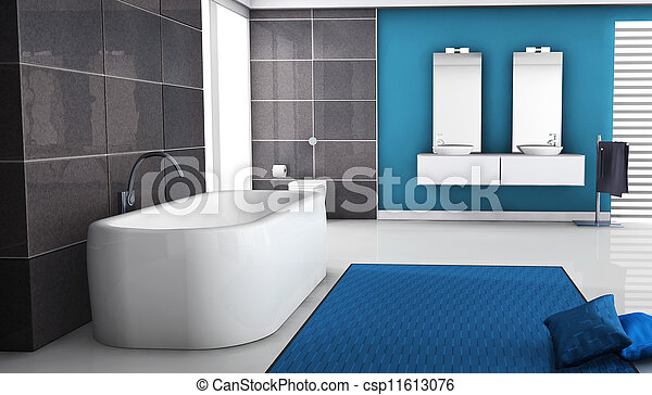 belső, fürdőszoba - csp11613076