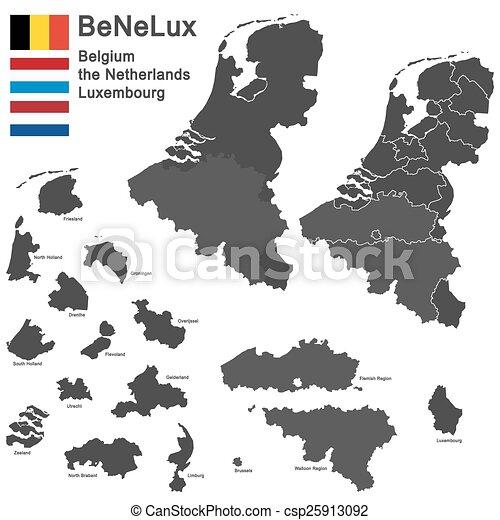 benelux-, országok - csp25913092
