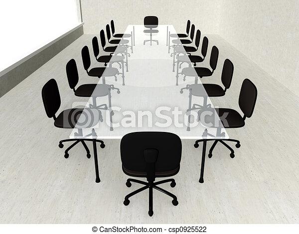 beton, ülésterem - csp0925522