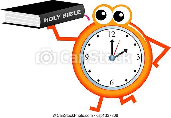 biblia, idő - csp1337308