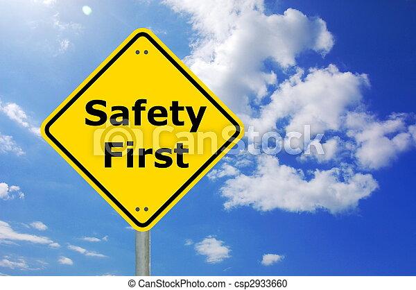 biztonság első - csp2933660