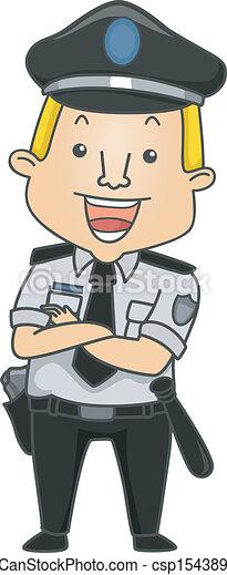 biztonsági őr, foglalkozás - csp15438918