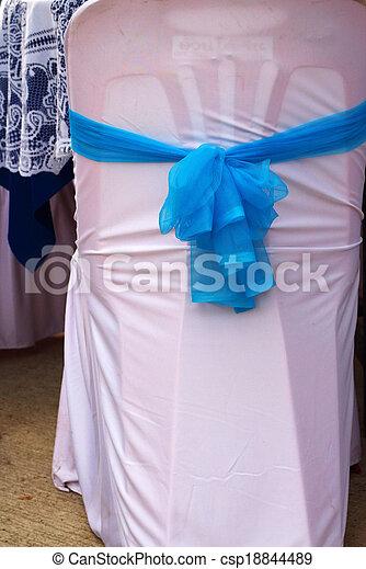 blue odaköt, fehér, chairs. - csp18844489
