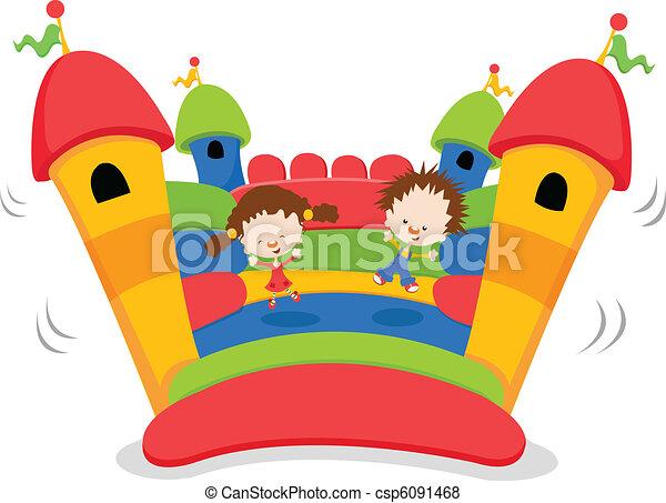bouncy, bástya - csp6091468