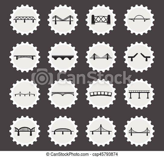 bridzs, állhatatos, ikonok - csp45793874