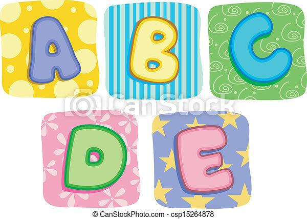 c-hang, b betű, irodalomtudomány, átmérő, paplan, abc, kelet - csp15264878