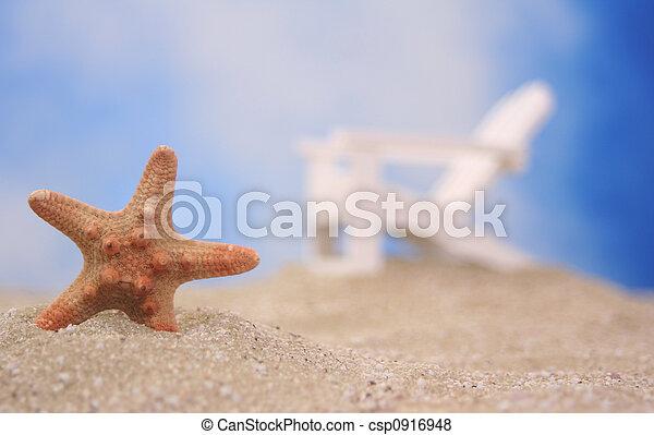 cahir, tengerpart, tengeri csillag - csp0916948