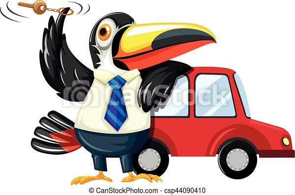 carkey, autó, tukán, fonás - csp44090410