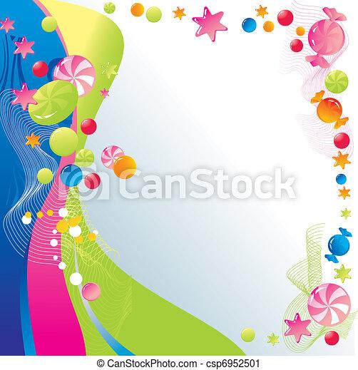 celebratory, kellemes, tervezés - csp6952501
