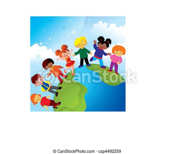 childhood., boldog - csp4492259