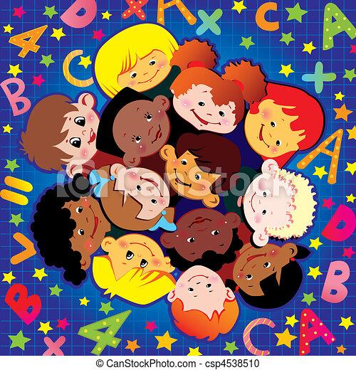 childhood., izbogis - csp4538510