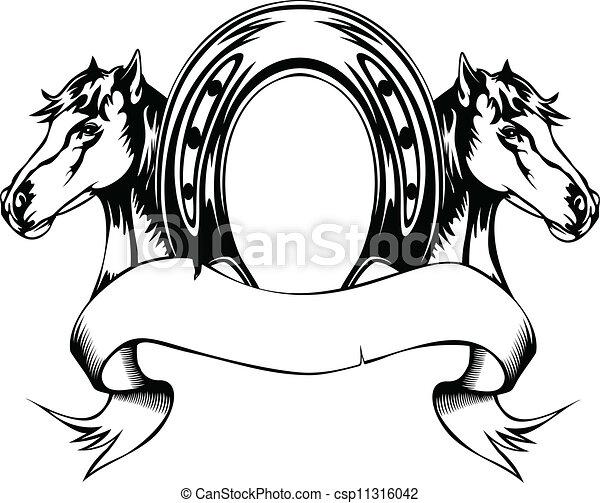 cipő, lovak, ló, gazdag koncentrátum - csp11316042
