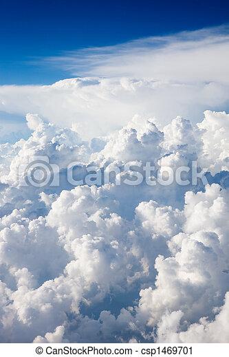 cloudscape, felül - csp1469701
