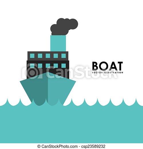 csónakázik, tervezés - csp23589232
