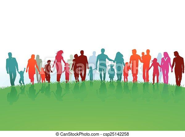 család, alakzat - csp25142258