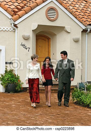 család, boldog - csp0223898