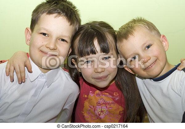 család, boldog - csp0217164