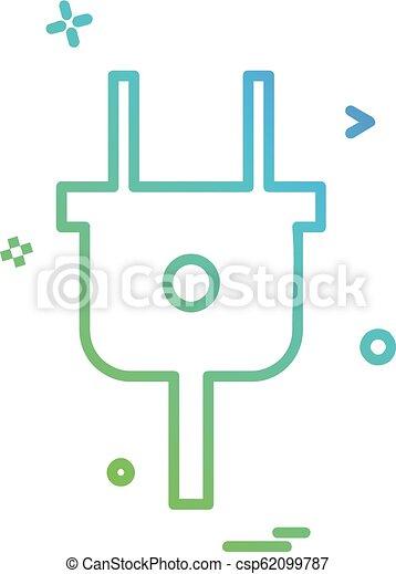 csali, vektor, tervezés, ikon - csp62099787