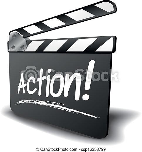 csattogó, akció, bizottság - csp16353799